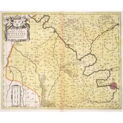 Carte du Pays et Forest d'Yveline que quelques uns mettent pour la partie Septentrionale de l'Hurepois