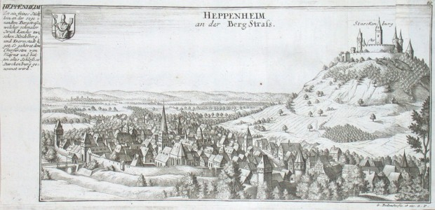 Heppenheim an der Berg Strass