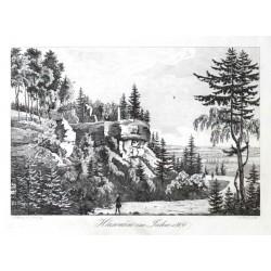 Hlawačow im Jahre 1800