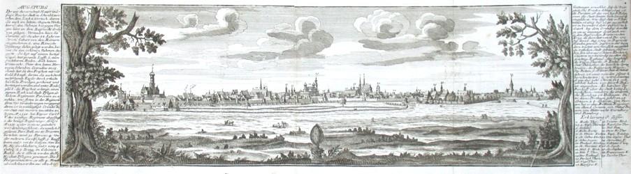 Augspurg - Alte Landkarte