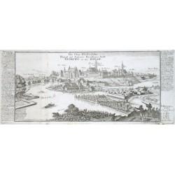 Die Chur-Pfaeltzische Haupt und Respective Residenz-Statt Neuburg an der Donaw