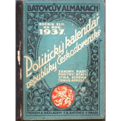 Batovcův Almanach 1937