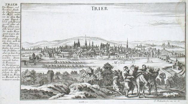 Trier - Antique map
