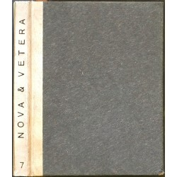 Nova et vetera 7