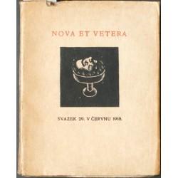 Nova et vetera 29
