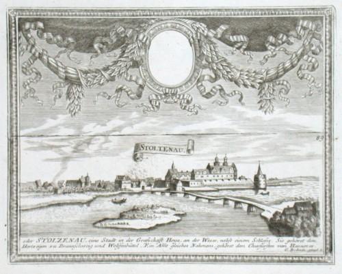 Stoltenau - Alte Landkarte
