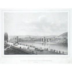 Kaiser-Franzens-Kettenbrücke in Prag