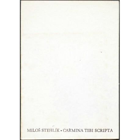 Carmina tibi scripta