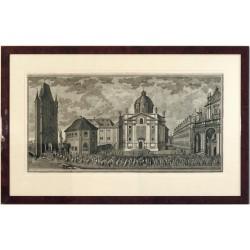Korunovace Marie Terezie - Křížovnické náměstí