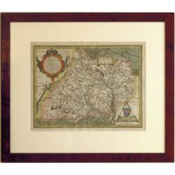 Moraviae, quae olim Marcomannorum Sedes, Corographia
