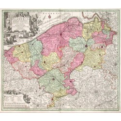 Flandria maximus et pulcherrimus Europae Comitatus