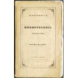 Wörterbuch der Mnemotechnik