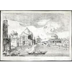 Benátky - architektonické capriccio