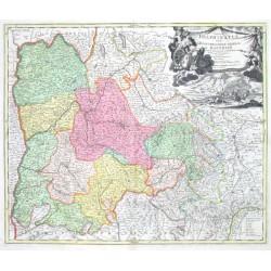 Tabula Delphinatus Vulgo le Gouvernement general du Dauphiné