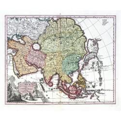 Nova Asiae Tabula