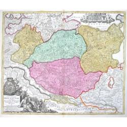 Tabula Generalis Holsatiae complectens Holsatiae Dithmarsiae Stormariae et Vagriae Ducatus