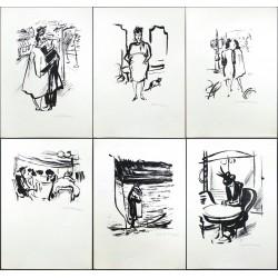 Z Paříže - Cyklus litografií