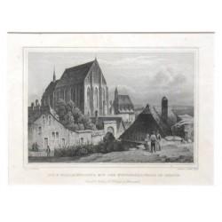 Die St. Nicolauskirche mit der Wenzelskapelle in Znaym