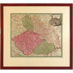 Regni Bohemiae, Ducatus Silesiae, Marchionatus Moraviae et Lusatiae Tabula Generalis