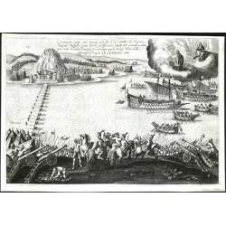 Donau. Türkenkrieg von 1663/1664