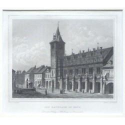 Das Rathhaus in Brüx