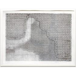 Alena Kučerová - otisk perforovaného plechu