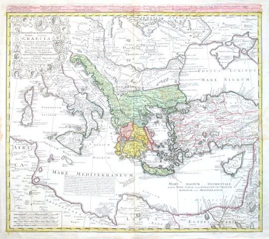 Imperii Turcici Europaei Terra, in primis Graecia cum confiniis