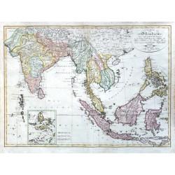 Charte von Ostindien