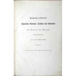 Sammlung verschiedener Spanischer National-Trachten und Uniformen