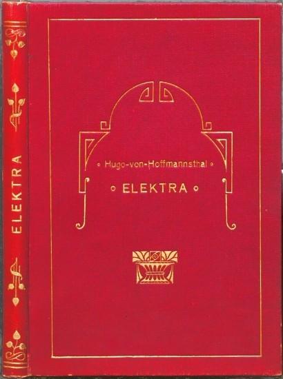 Elektra. Tragödie in einem Aufzug