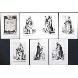 Callot - Salvatoris Beatae Mariae Virginis Sanctorum Apostolorum Icones