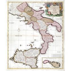 Continentis Italiae ... Regnum Neapolitanum