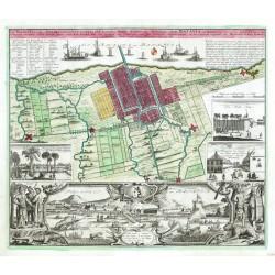 Der Hollaendisch - Ostindianischen Compagnie  Haupt -  Stadt Batavia