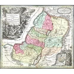 Regio Canaan seu Terra Promissionis ... Iudae vel Palaestina ... hodie Terra Sancta