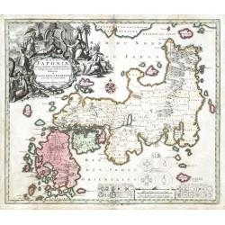 Regni Japoniae Nova Mappa Goegraphica