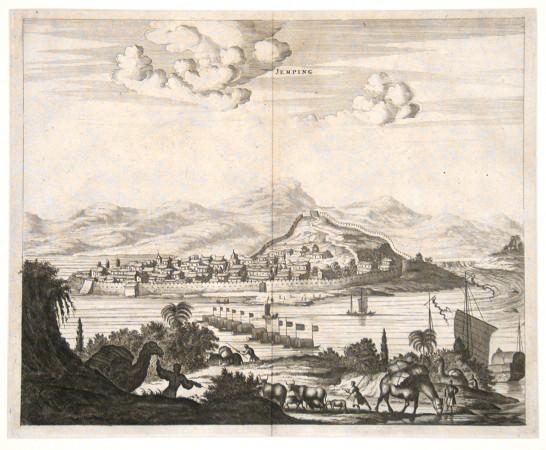 Jemping - Alte Landkarte