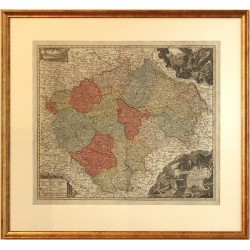 Mappa Geographica Totius Regni Bohemiae