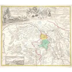 Geographica Descriptio Montani cuiusdam Districtus in Franconia in quo Illustrissimorum S. R. I. Comitum a Giech Particulare