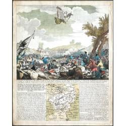 Vorstellung des herrlichen Sieges ... bey Lowoschütz in Böhmen, den 1ten October 1756
