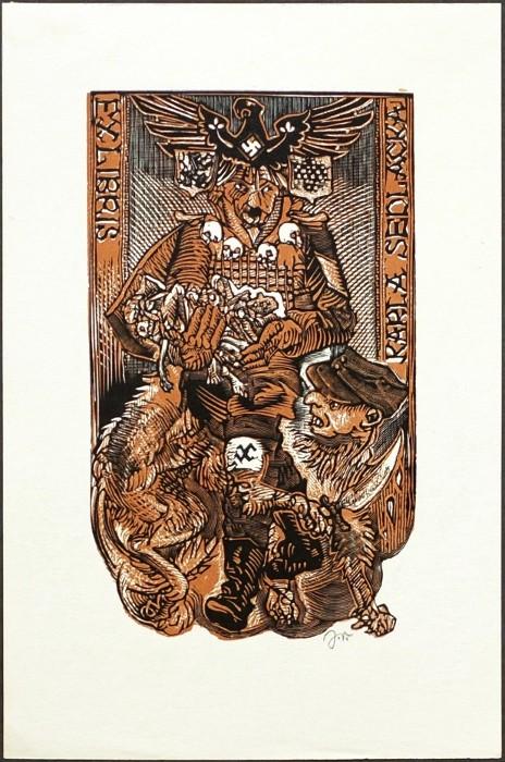 The Art of Amanda Myers: Ex Libris