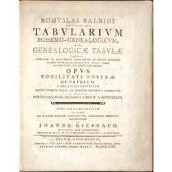 Tabularium Bohemo-