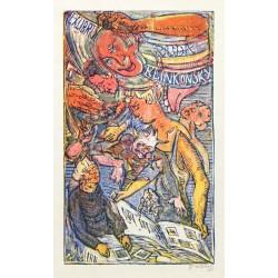 Ex libris Ruda Klinkovský