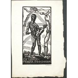 Ex libris Franta Procházka (erotické)