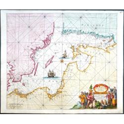 Mare Balticum. Nieuwe Pascaert van de Oost Zee