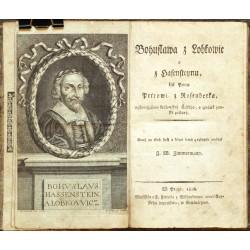 Bohuslawa z Lobkowic a z Hasensteynu, list Panu Petrowi z Rosenberka
