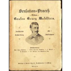 Sensation-Proceß der Erben des Grafen Georg Waldstein