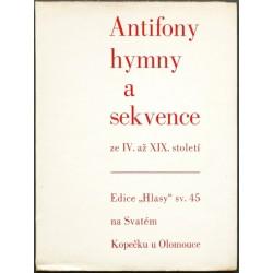 Antifony, hymny a sekvence