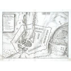 Abriß des Schwedischen Lägers beij Bröhraw im Aug: Ao. 1643