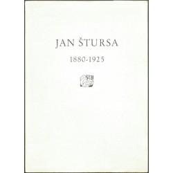 Za Janem Štursou 1880-1925