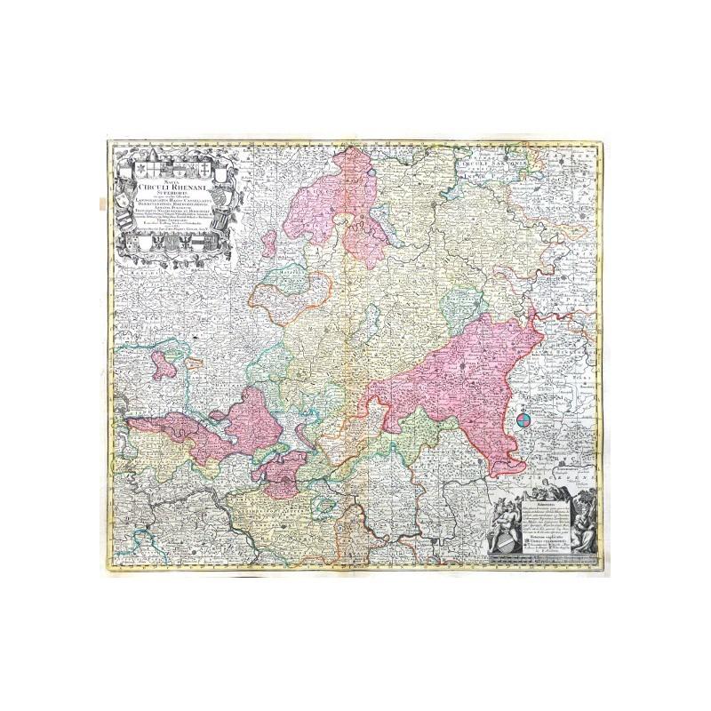 Mappa Circuli Rhenani Superioris